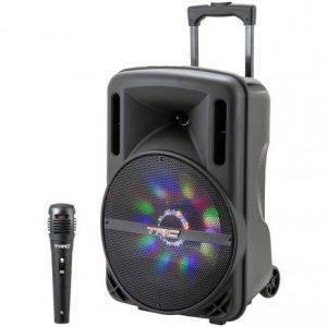 Caixa de Som Bluetooth TRC 336 Ativa Amplificada – 290W com Microfone USB